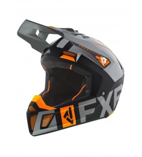 CASQUE CLUTCH EVO GRIS ORANGE