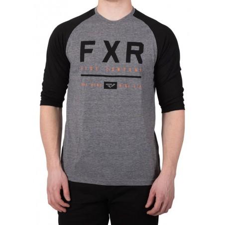 T SHIRT 3/4 FXR CLUTCH  GRIS