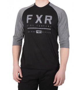 T SHIRT 3/4 FXR CLUTCH NOIR